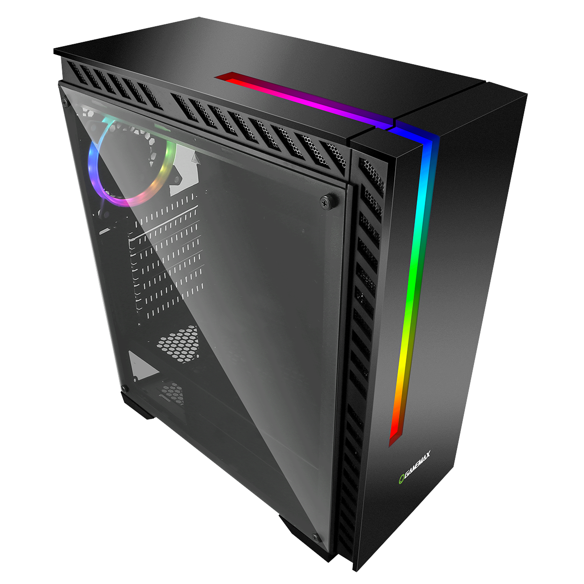 GameMax Chroma RGB PC Gaming Case - Mid Tower